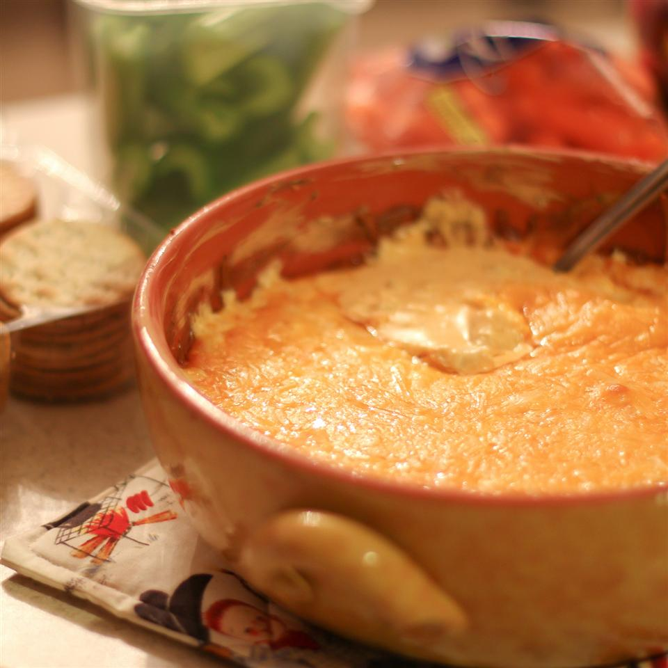 Healthier Buffalo Chicken Dip NERDBOX