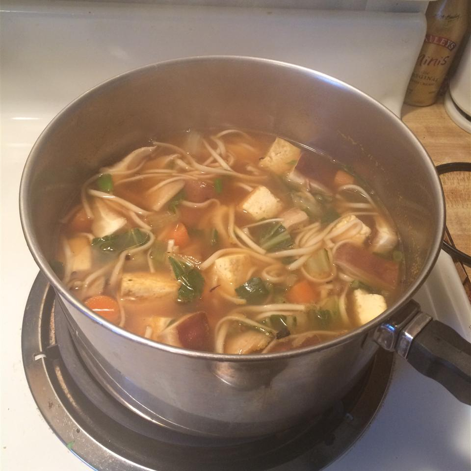 back to grandmas chicken soup with homemade noodles recipe