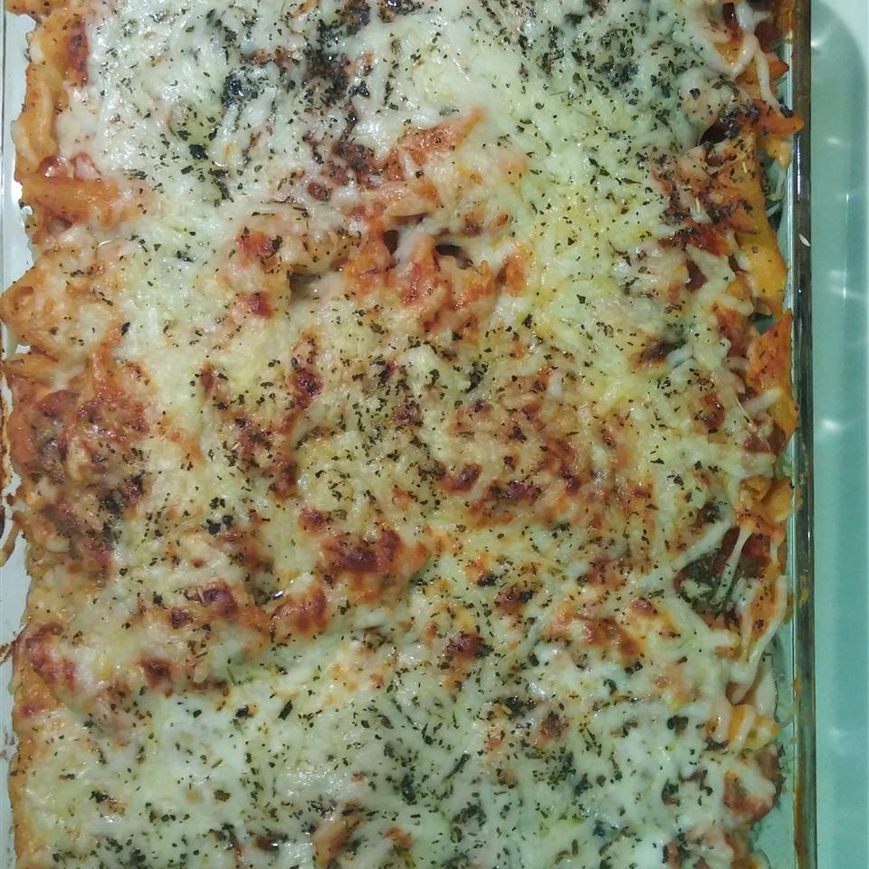 Baked Ziti with Sausage Aaron McCauley