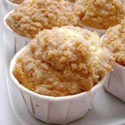 Cinnamon Streusel Orange Muffins Queenluan