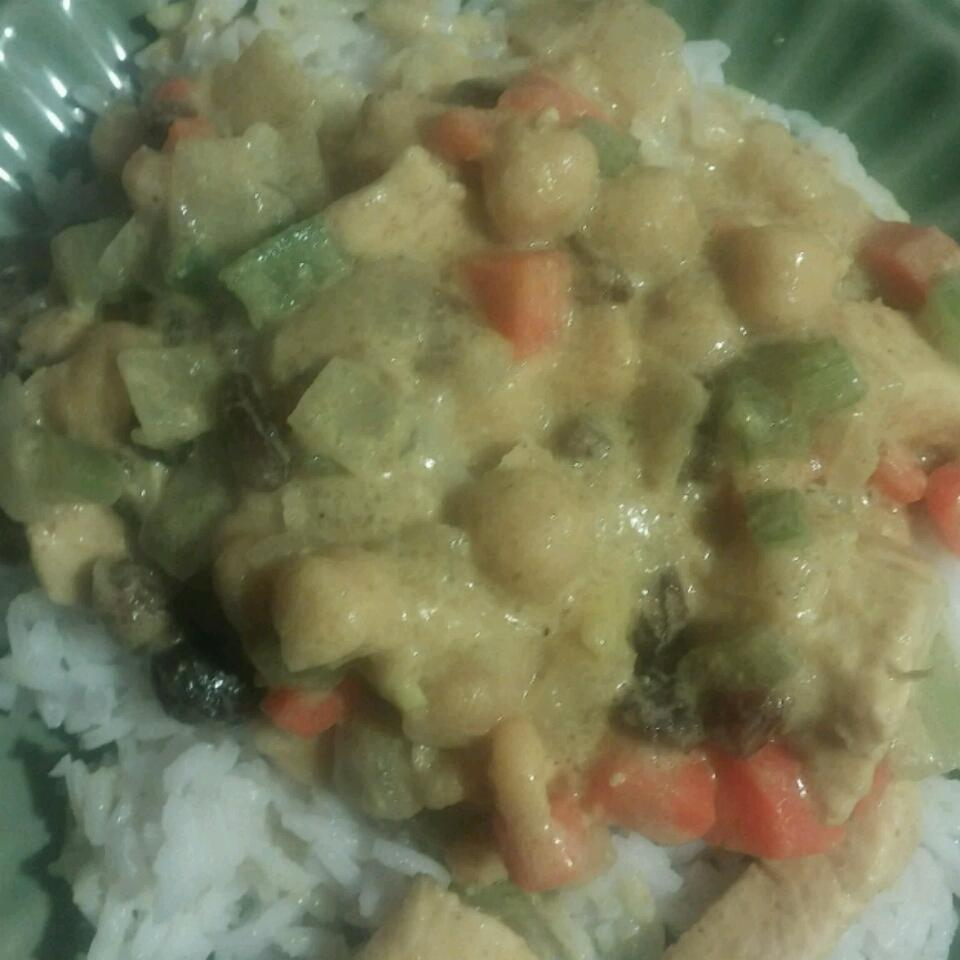 Chicken Coconut Curry caroline