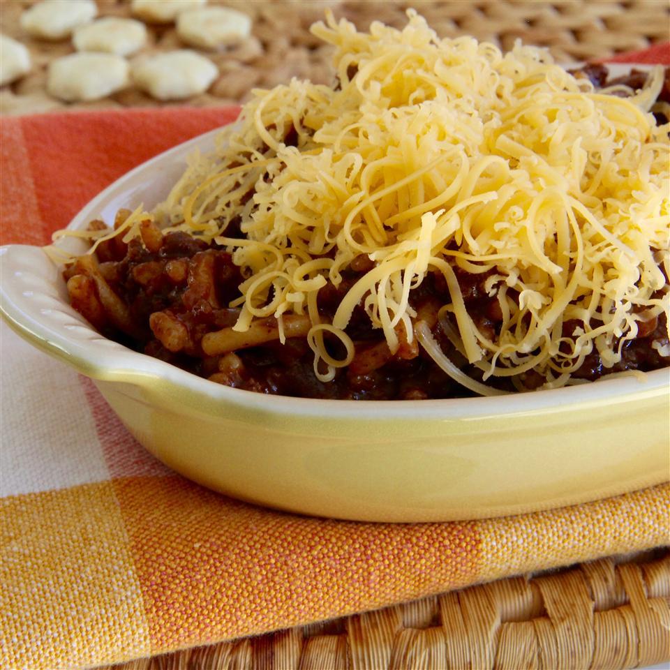 Cincinnati-Style Chili & Rice lutzflcat