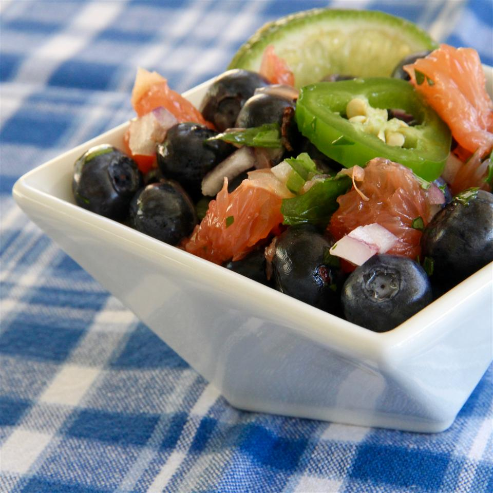 Blueberry Grapefruit Salsa