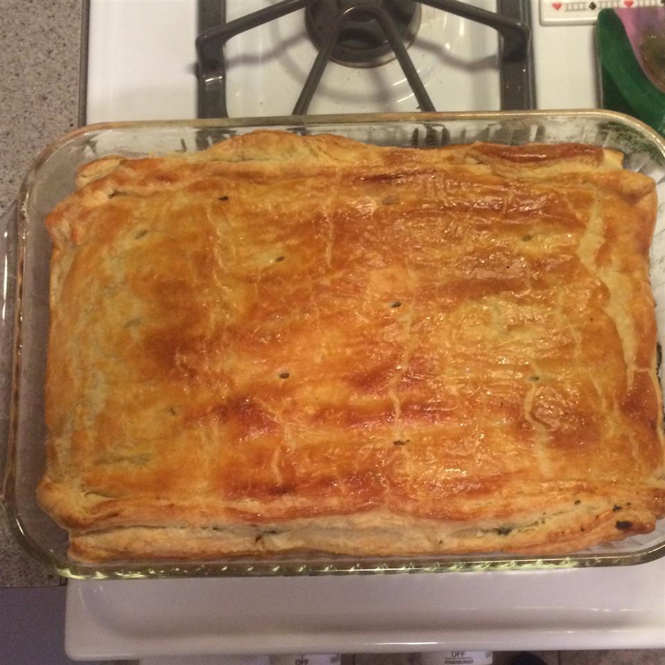 Spanakopita (Greek Spinach Pie) Amycooks
