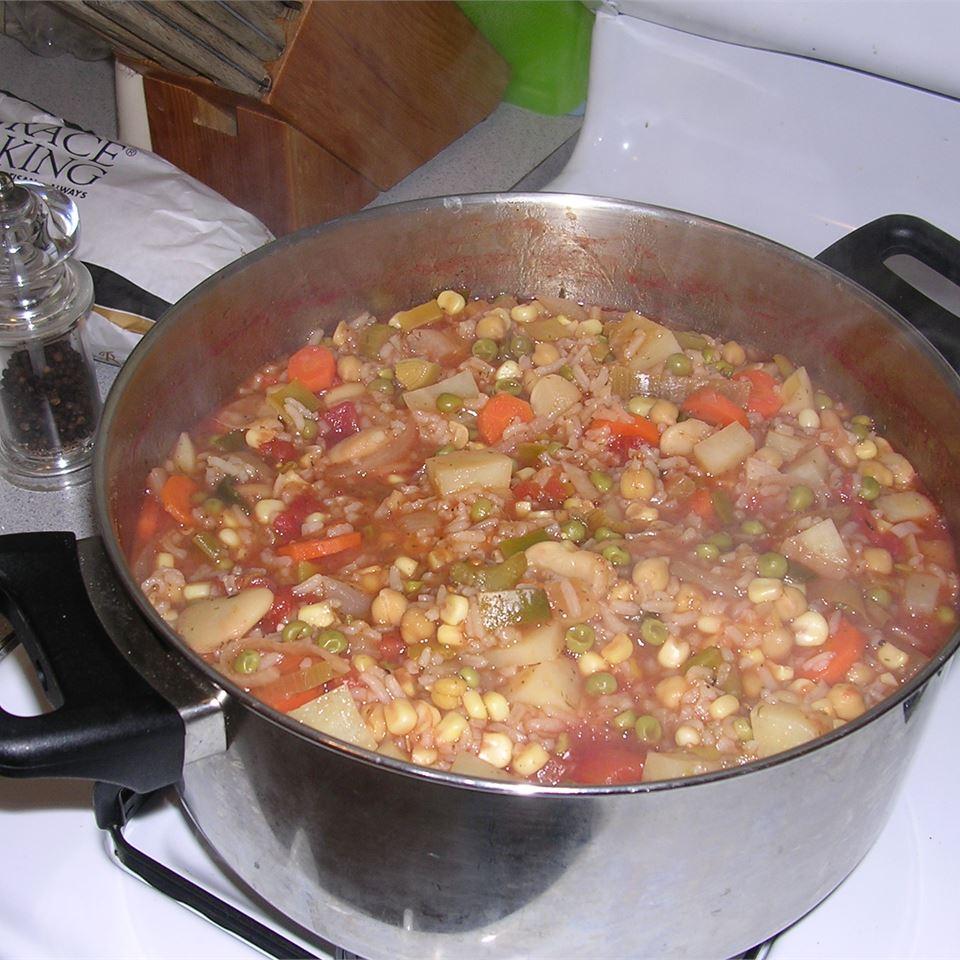 Hearty Vegetable Soup Randy