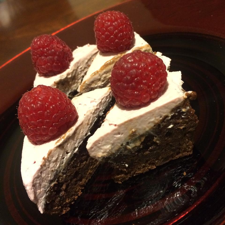 Raspberry Fudge Brownies