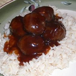 Sweet and Sour Meatballs II