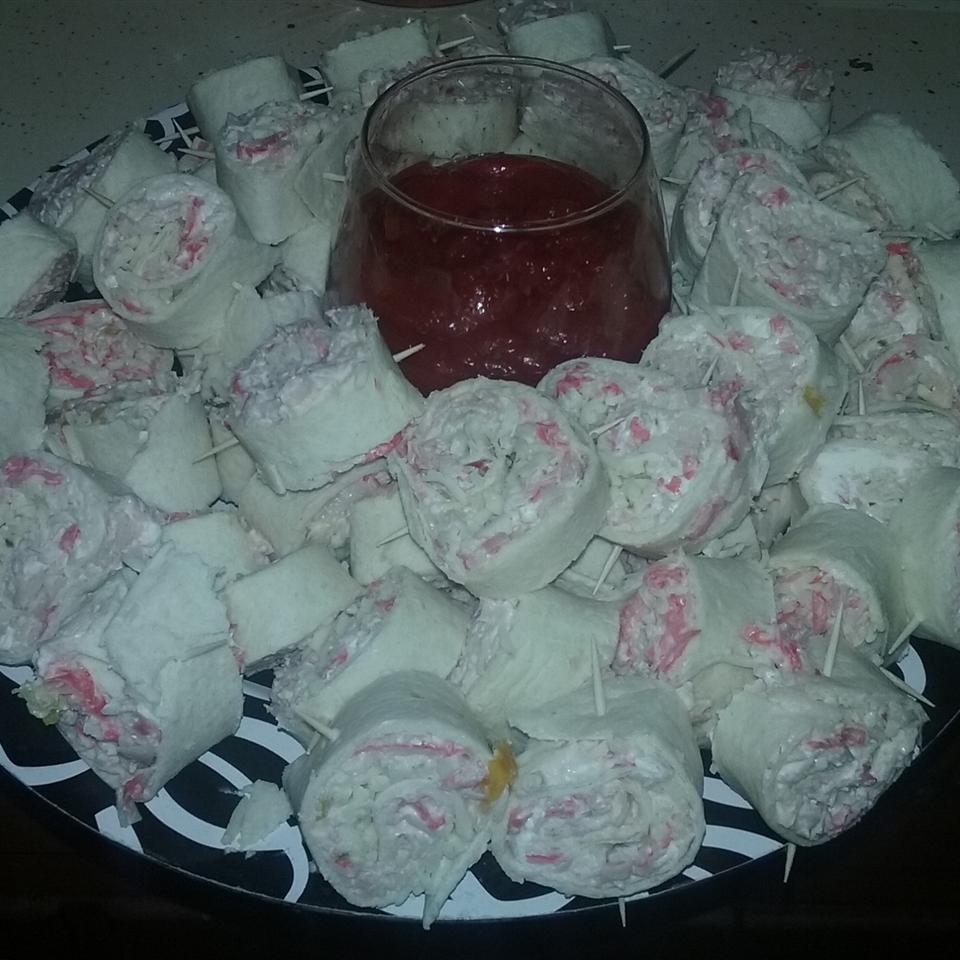 Crabmeat Roll-Ups Aljerome Taalib Harvey