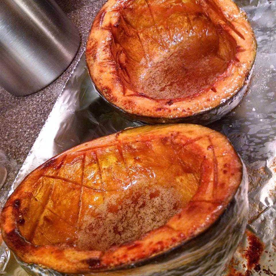 chef johns baked acorn squash