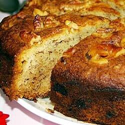 banana cake v recipe
