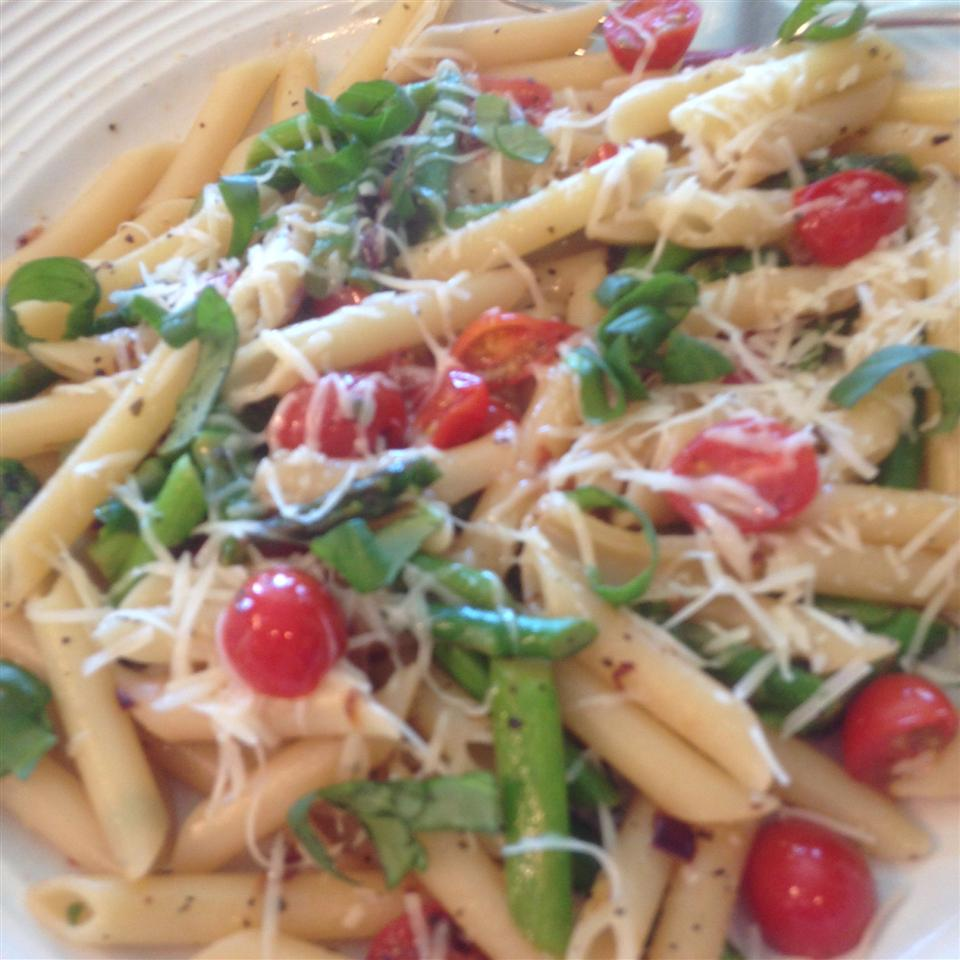 Gluten Free Penne with Sauteed Veggies Beth Baker