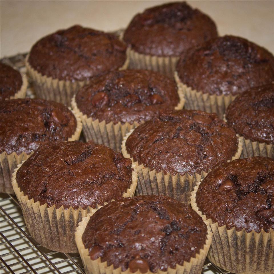 Moist Chocolate Muffins Erin