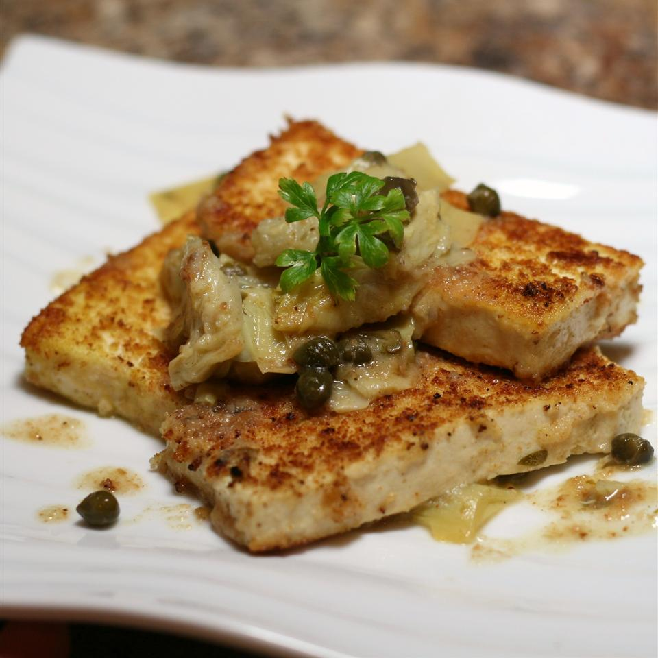 Tofu Piccata