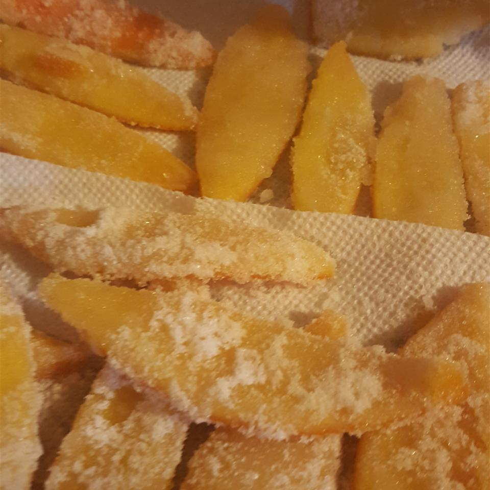 Sweet Candied Orange and Lemon Peel Sarah Fithian