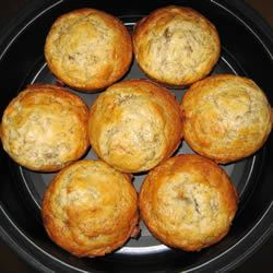 Lighter Banana Muffins