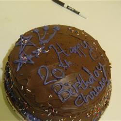 Double Chocolate Cake I chrissy b