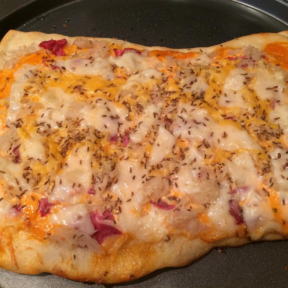 Reuben Pizza Michelle Leach