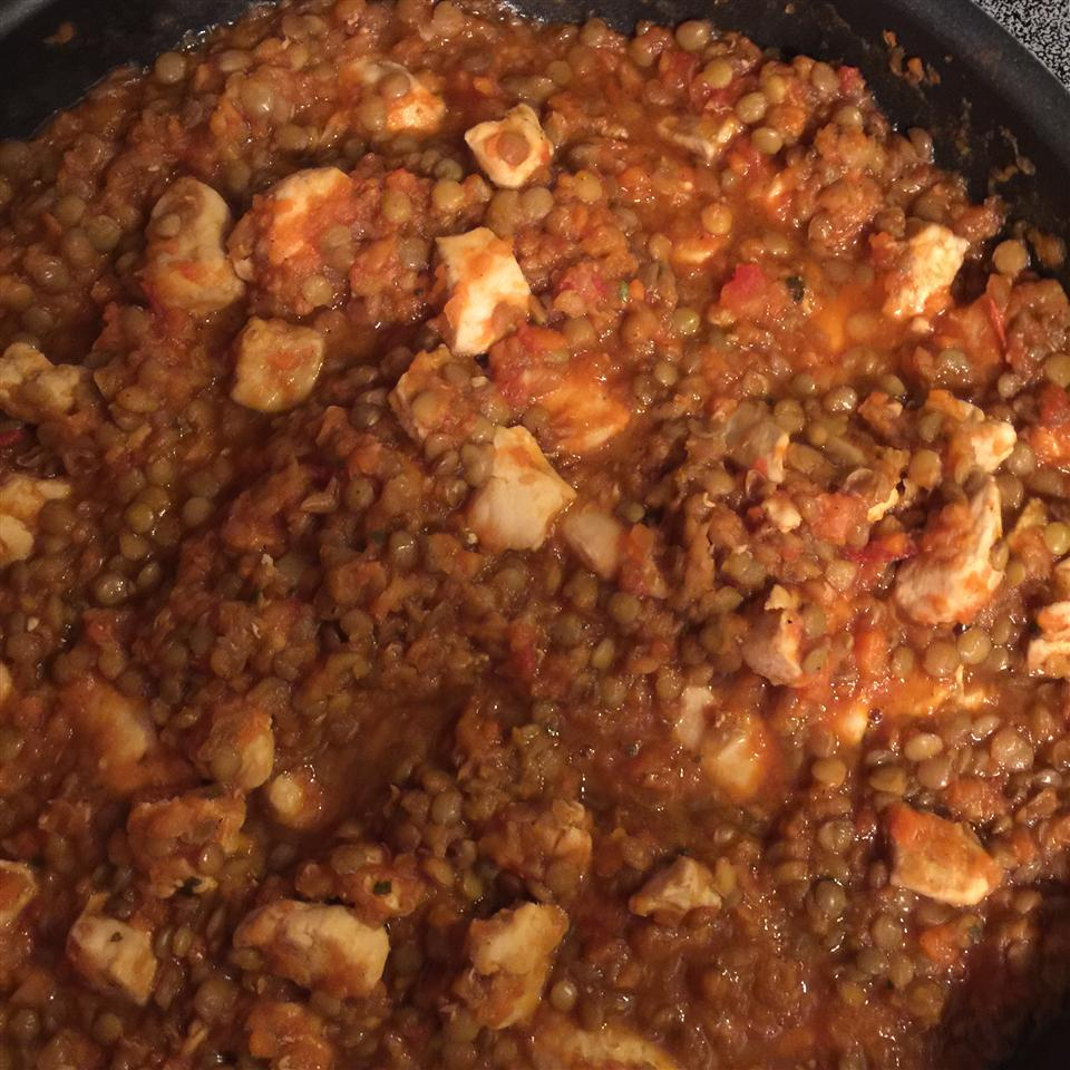 Chicken and Lentils Lisa