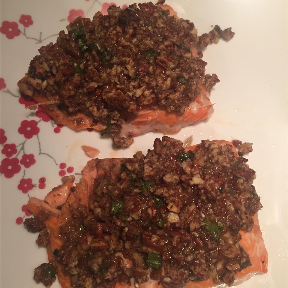 Paleo Pecan-Maple Salmon Jackie King