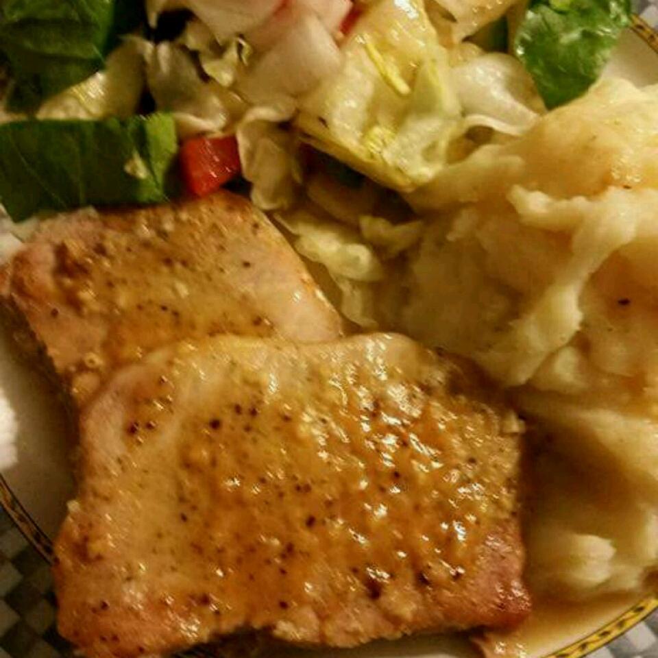 Honey-Dijon Pork Chops Mary Sakura Weaver