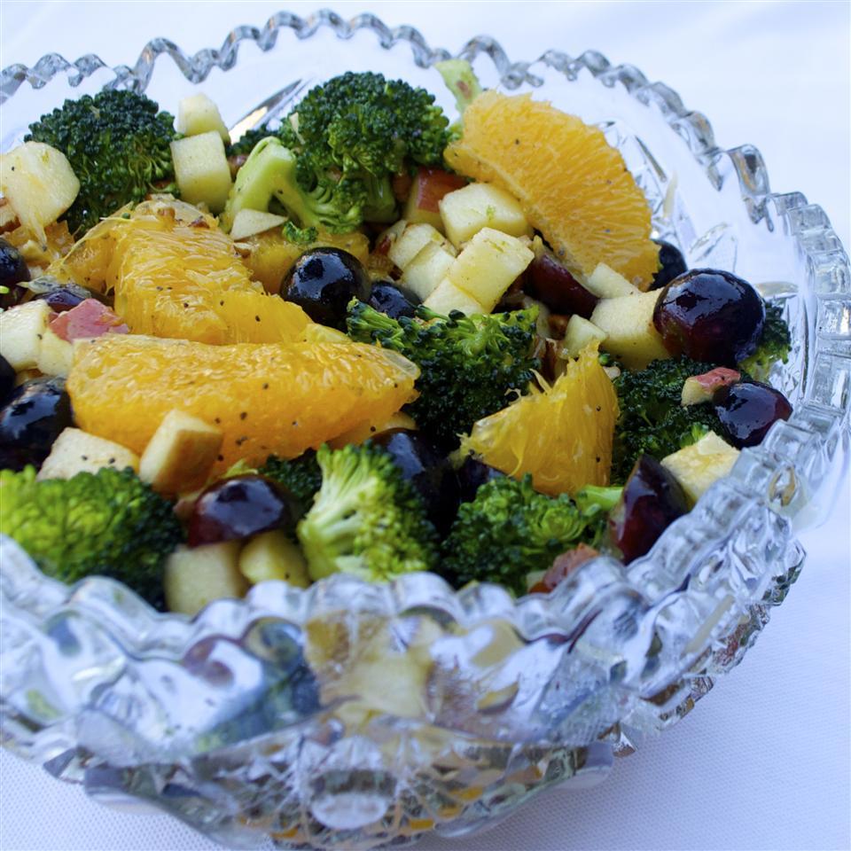Fruit and Broccoli Buffet Salad