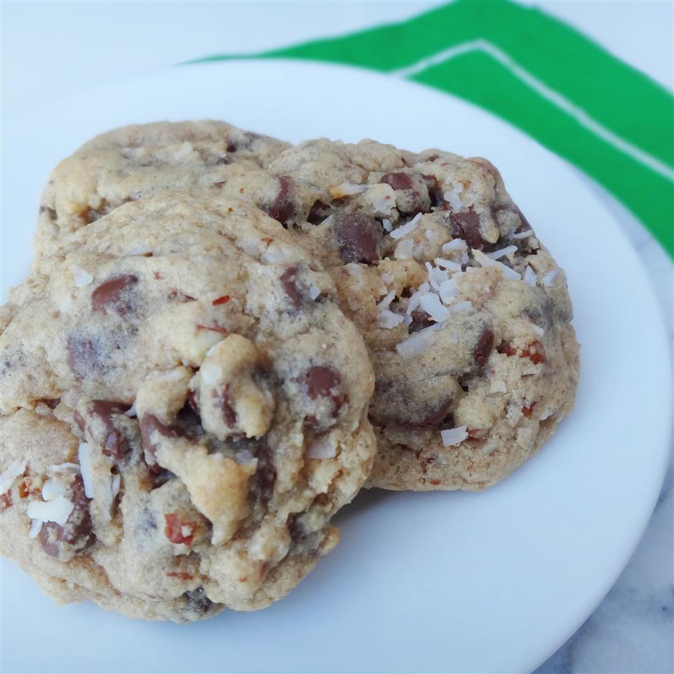 Almond Chocolate Coconut Cookies II_image