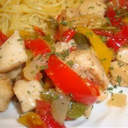 Pepper Chicken Piccata amandak23k