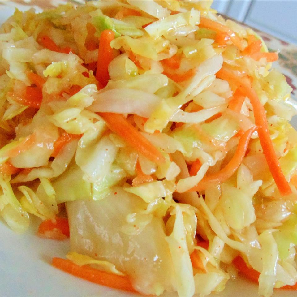 Quick and Easy Kimchi Salad Christina