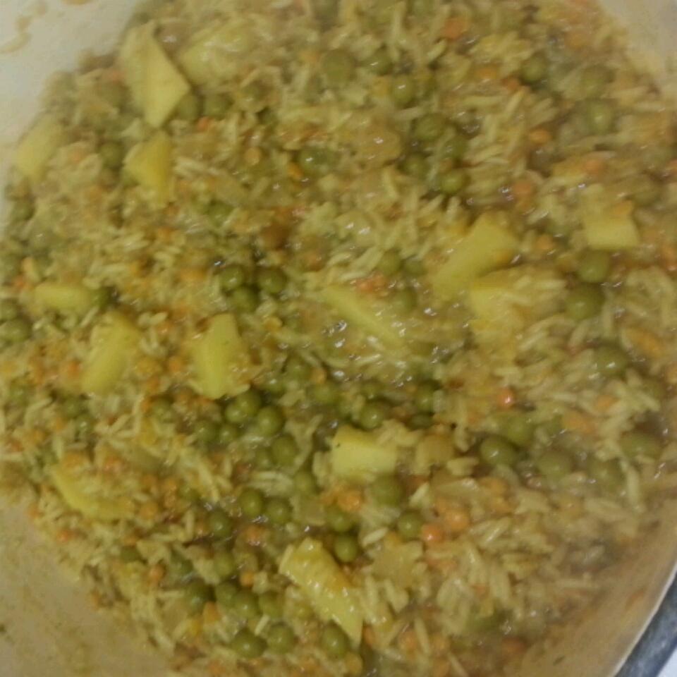 Indian Spiced Rice Shane Garinger