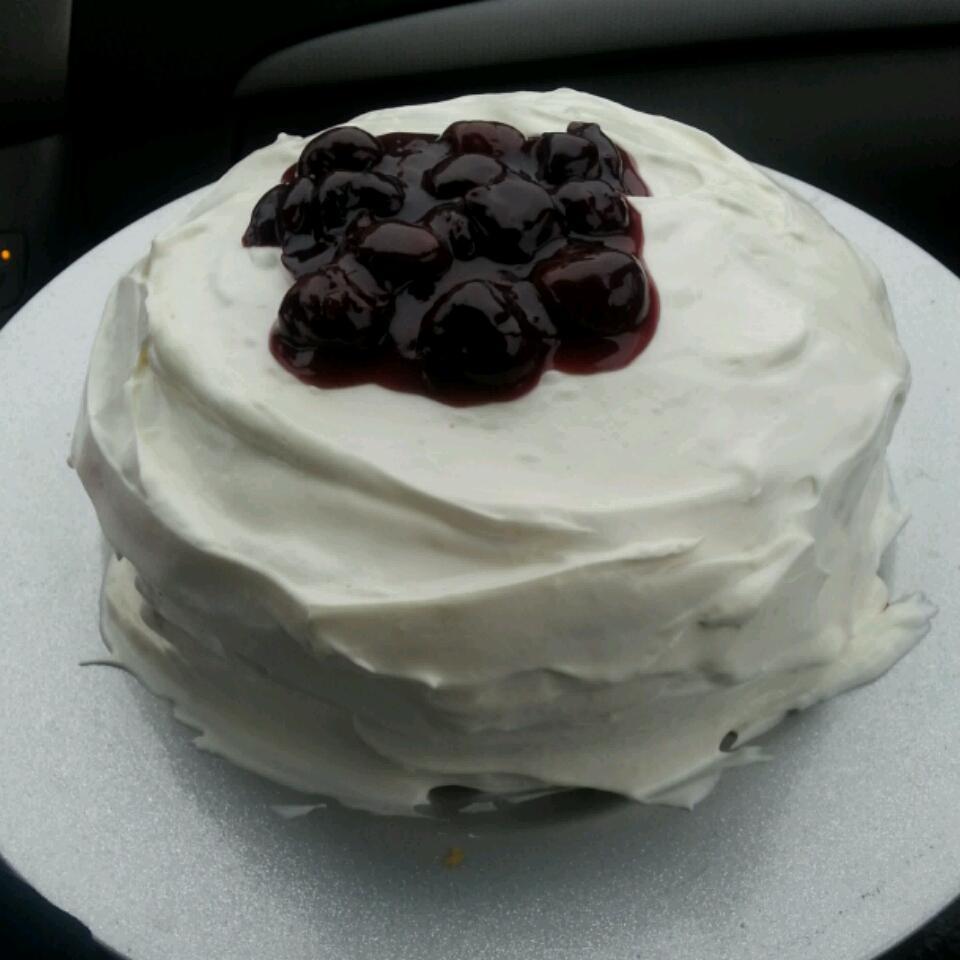 Low-Fat Lemon Raspberry Cake Rebee Leigh