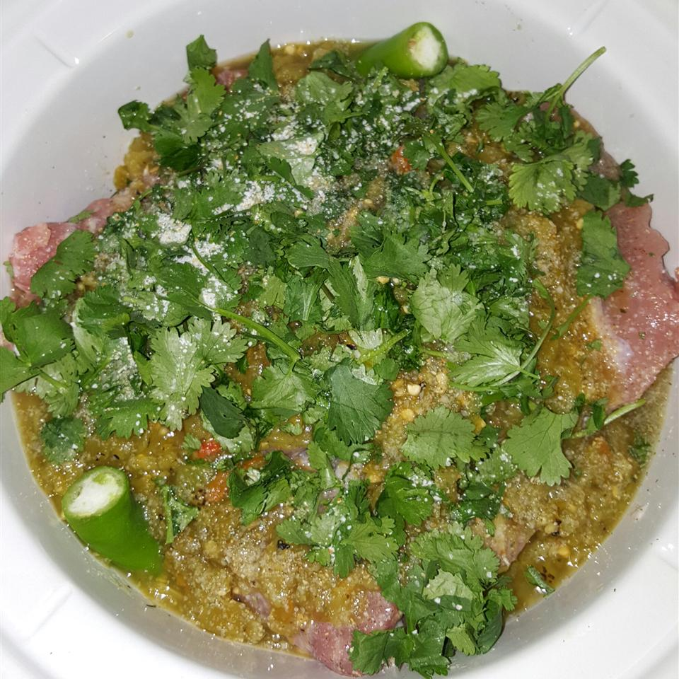 Andy's Spicy Green Chile Pork