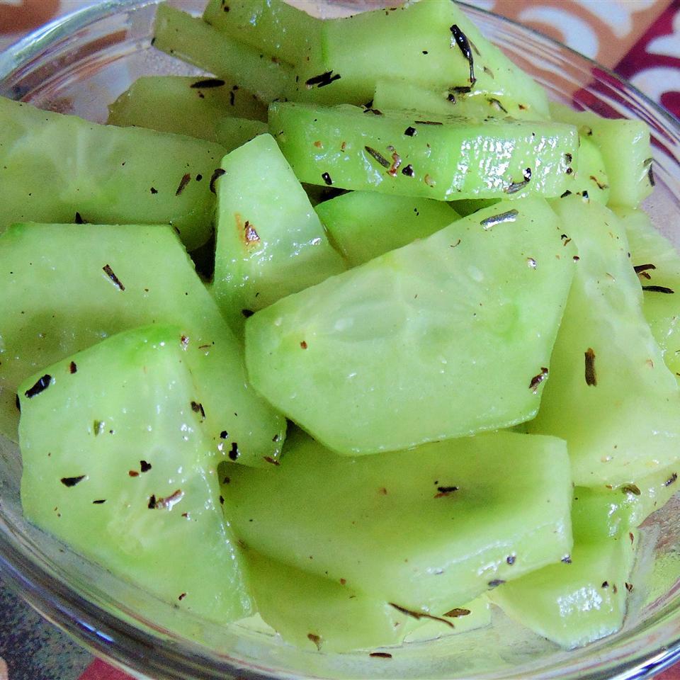 Sauteed Cucumbers