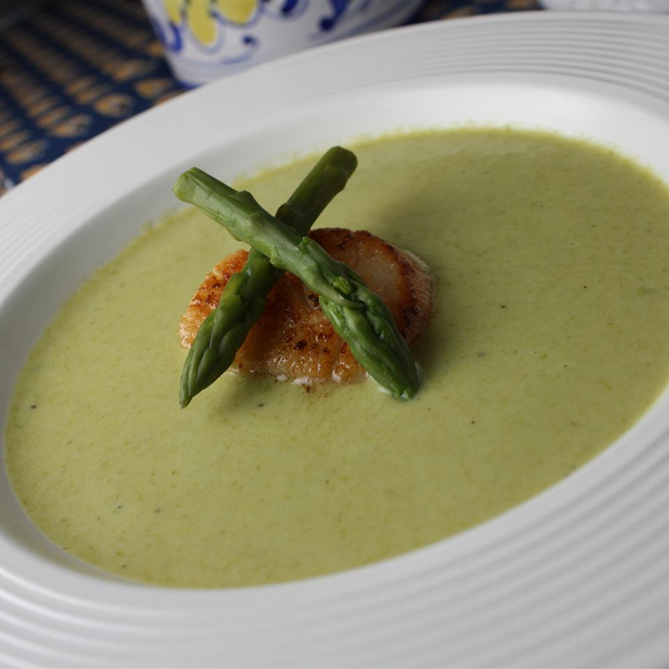 Cream of Fresh Asparagus Soup II MARBALET