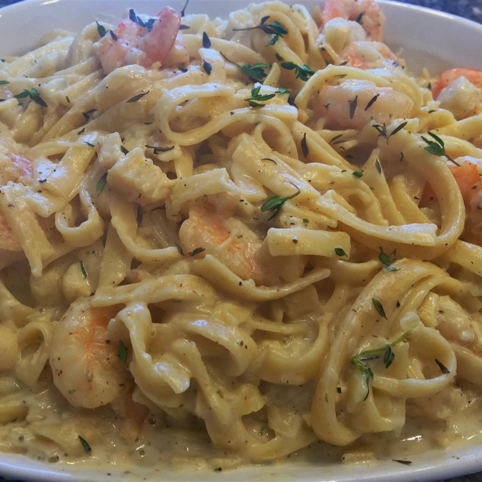 Seafood Fettuccine Craig
