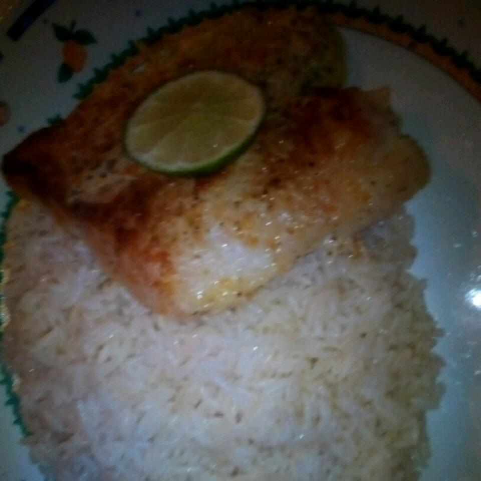 Broiled Grouper Parmesan Apple Bee Taylor