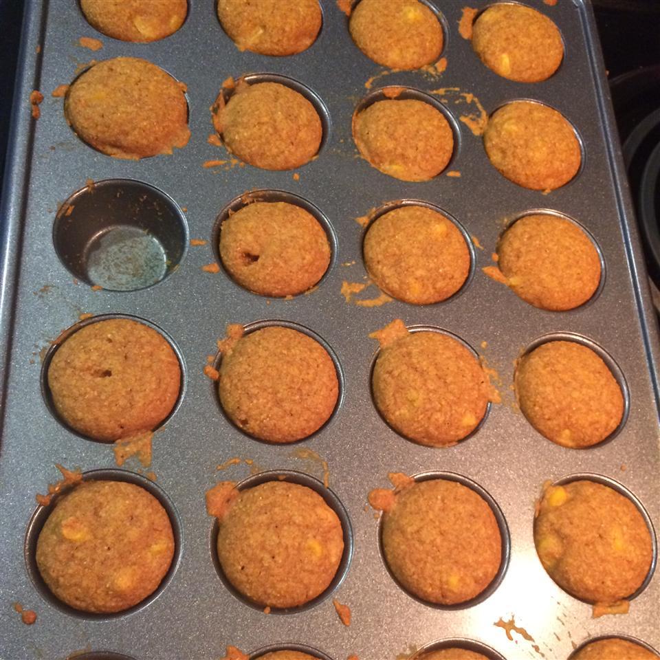 Vegan Agave Cornbread Muffins
