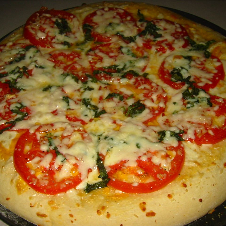 Four Cheese Margherita Pizza Rachelle Vernon Jones