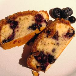 Sugar Free Blueberry Coffee Cake cheremushki