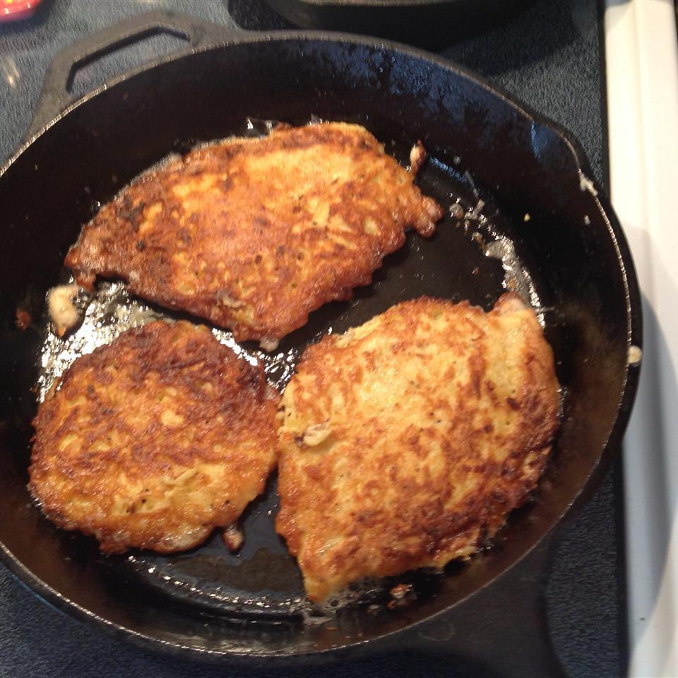 Kay Dee's Recipe for Potato Latkes Juliette