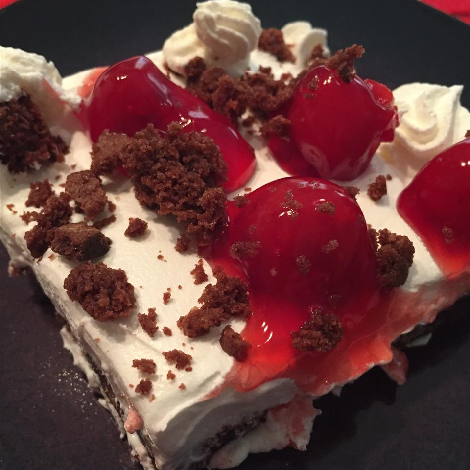 Black Forest Cake Bars thedailygourmet