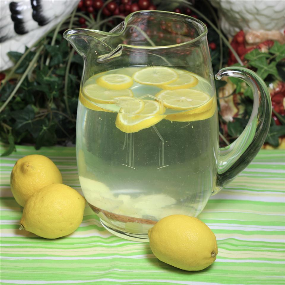 Lemon, Ginger, and Cinnamon Flavored Water