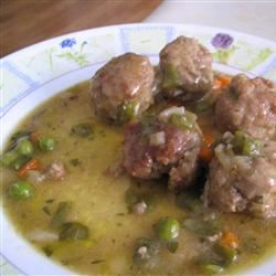 Meatball and Olive Stew (Albondigas Verdes) Kelly H