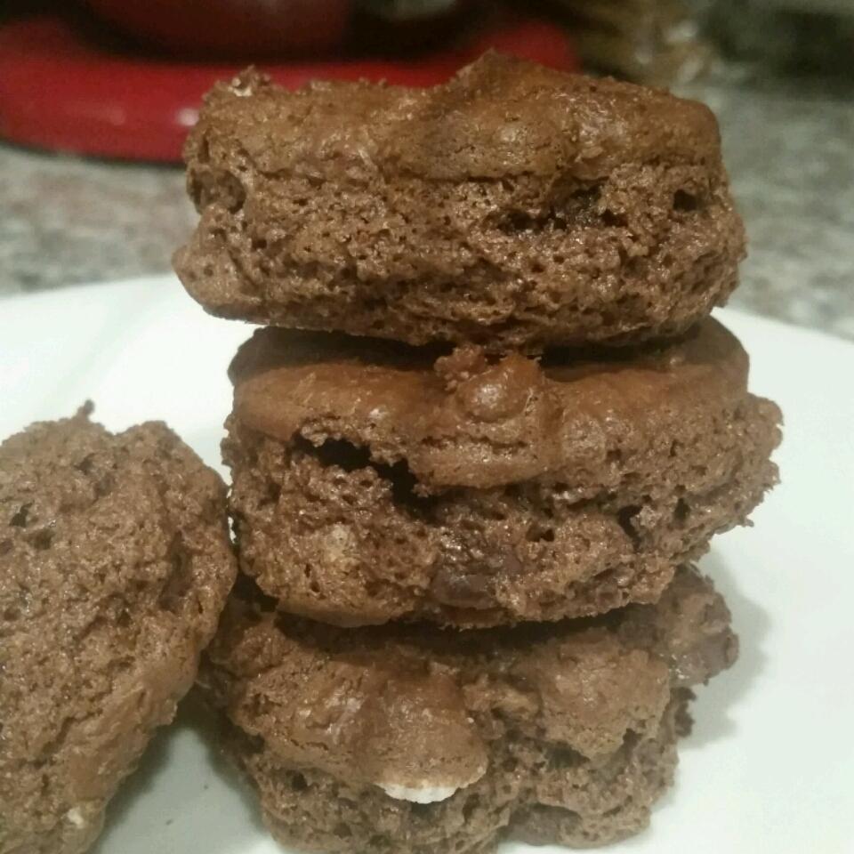 Flourless Fudge Cookies Elvira Silva