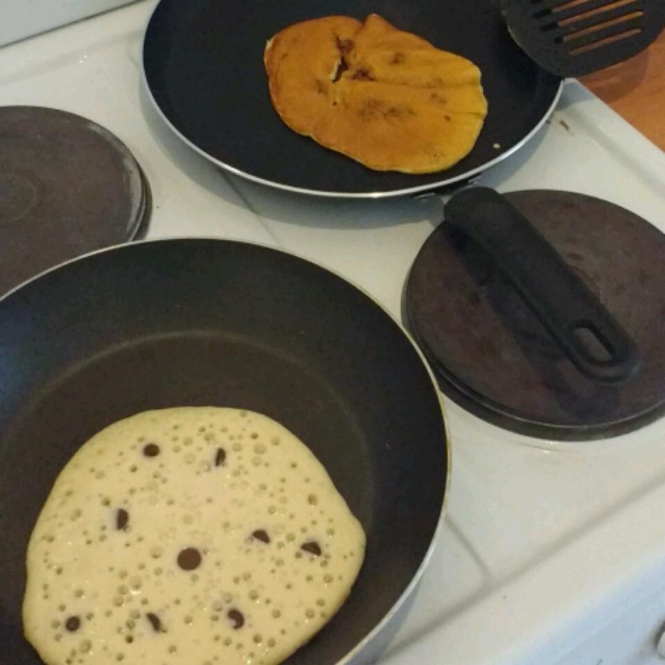 Mini Chocolate Chip Pancakes