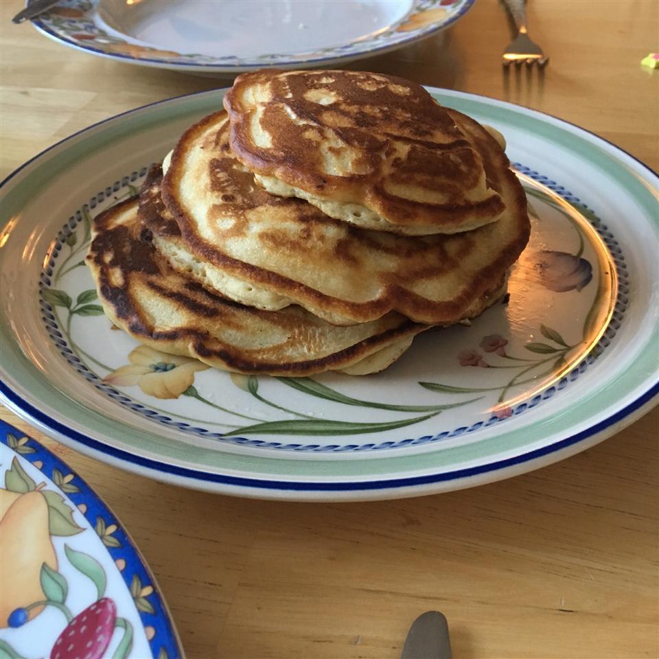 Soy Milk Pancakes Ann Saqr