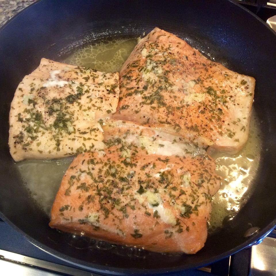 Poached Salmon II Cindy