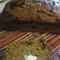 Chocolate Pecan Pumpkin Bread baker at  heart