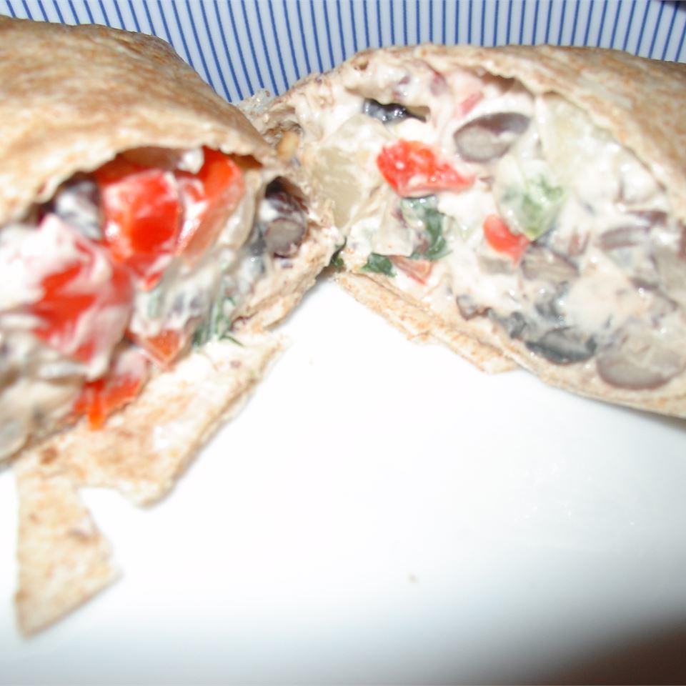 Delicious Black Bean Burritos JenniferJP