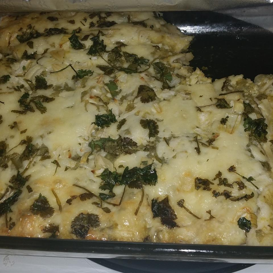 Authentic Enchiladas Verdes Pam Ledford