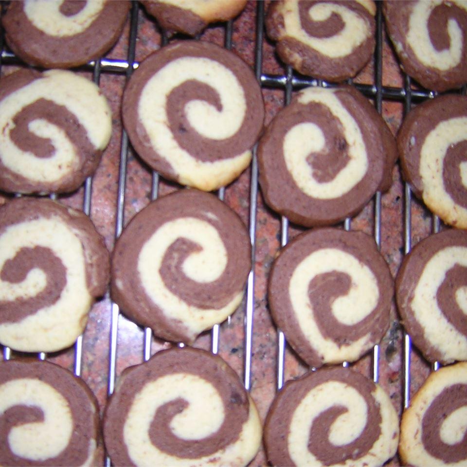 Chocolate Pinwheel Cookies Sam I Am